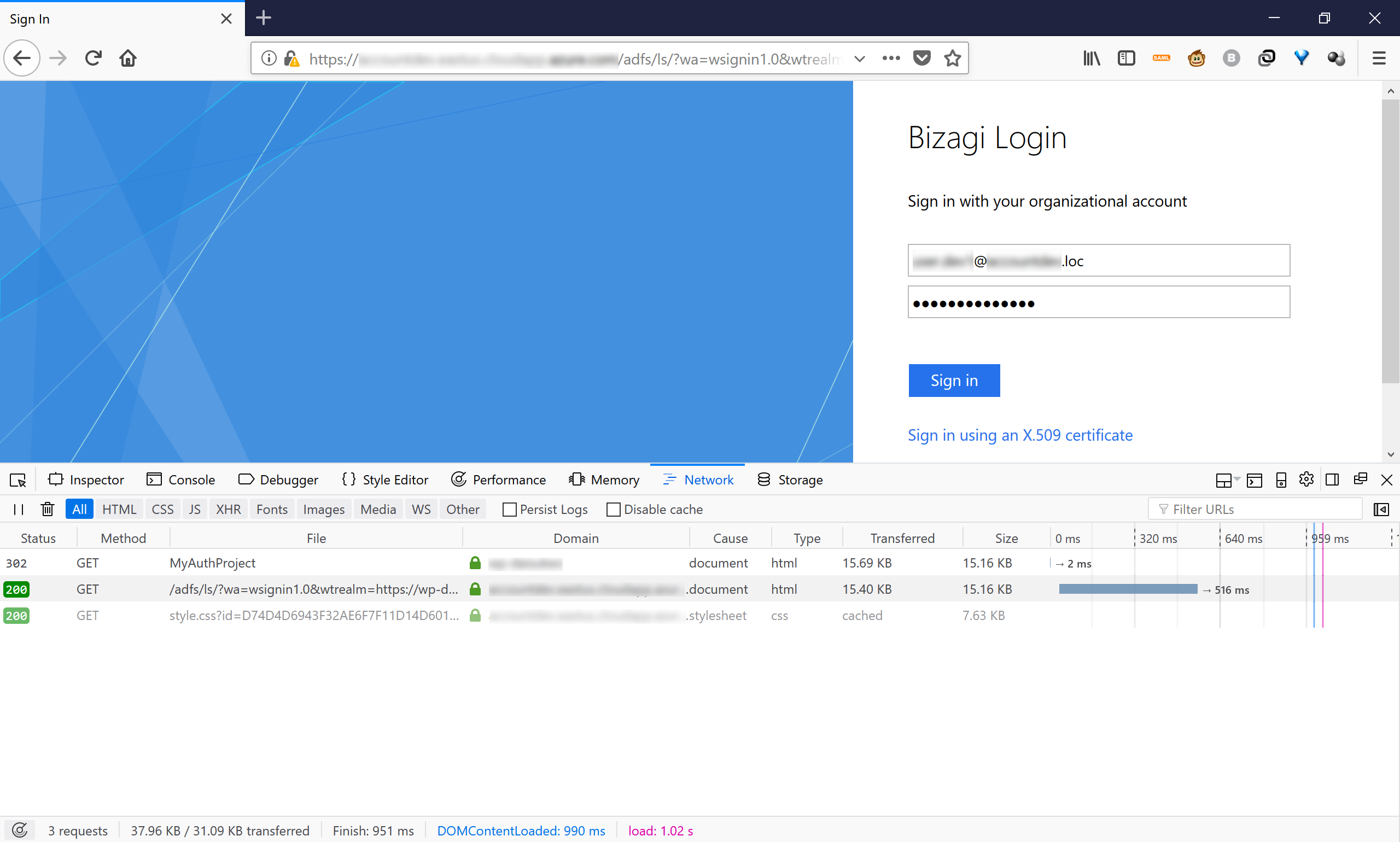 Bizagi Studio > Security definition > Work Portal Security