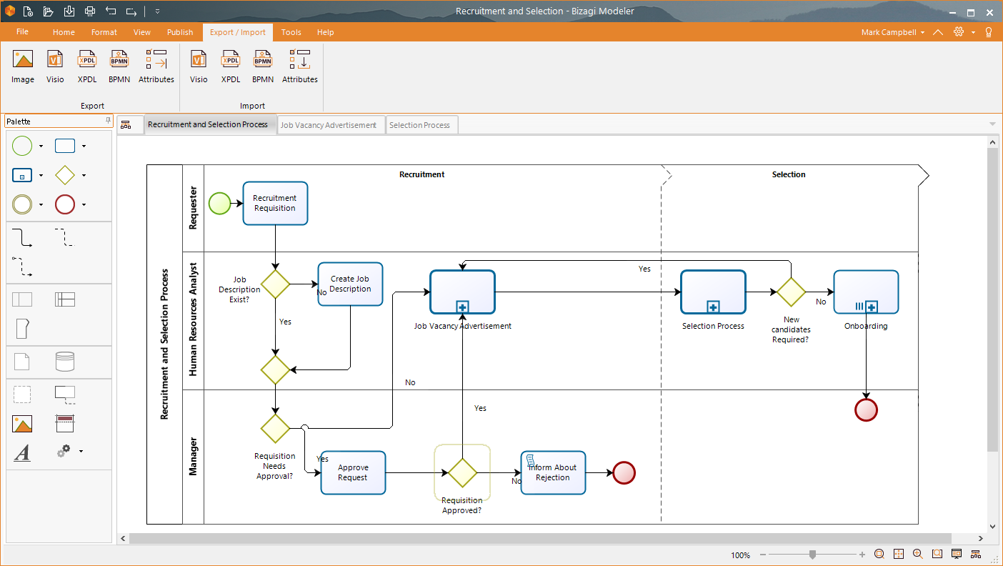 how to open bpmn file